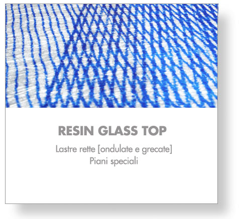 resin glass top